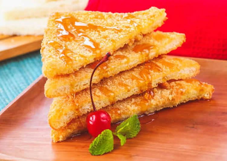 Resep Roti Goreng Madu