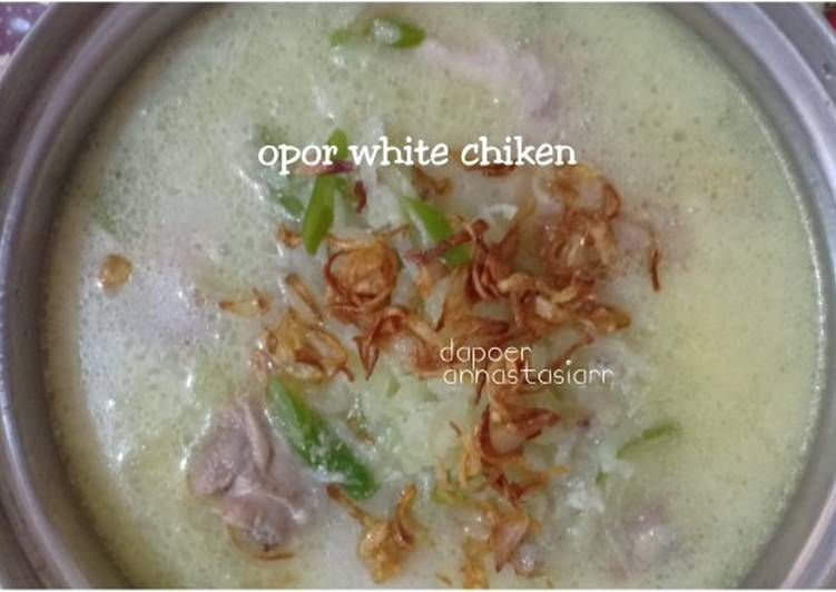 Resep Opor white chiken