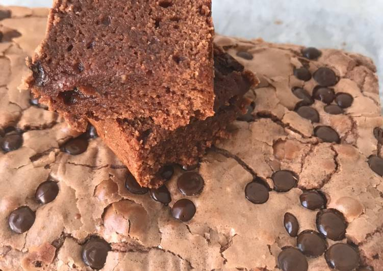 Resep Chocochips brownie