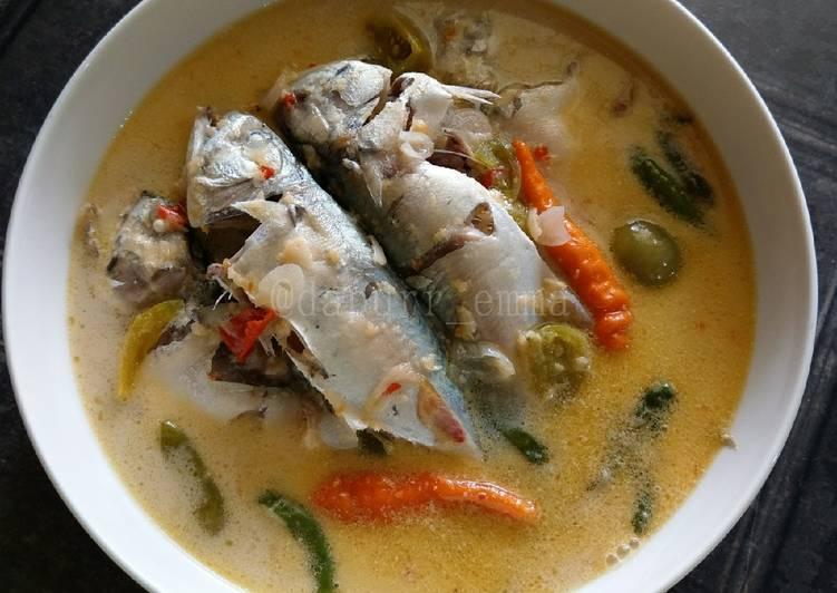 Resep Ikan Kembung Masak Santan