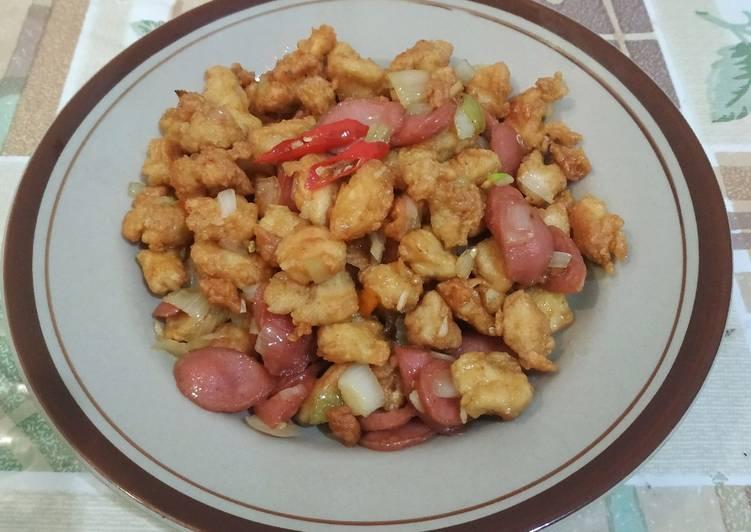 Resep Ayam Saus Madu