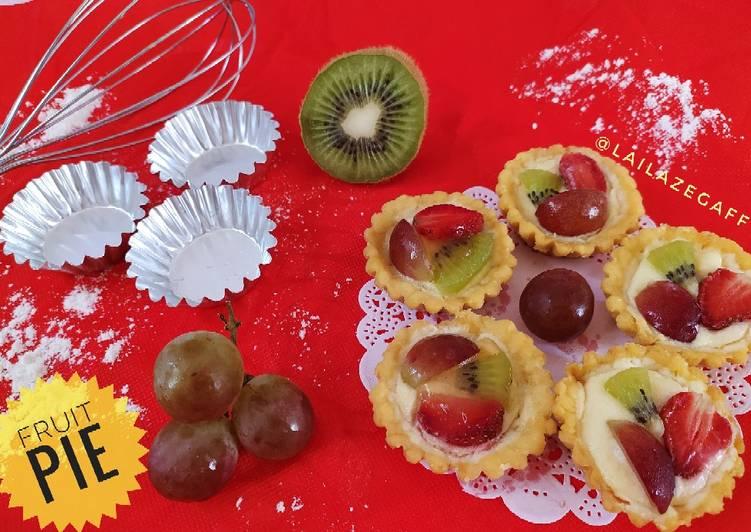 Resep Fruit Pie Mini