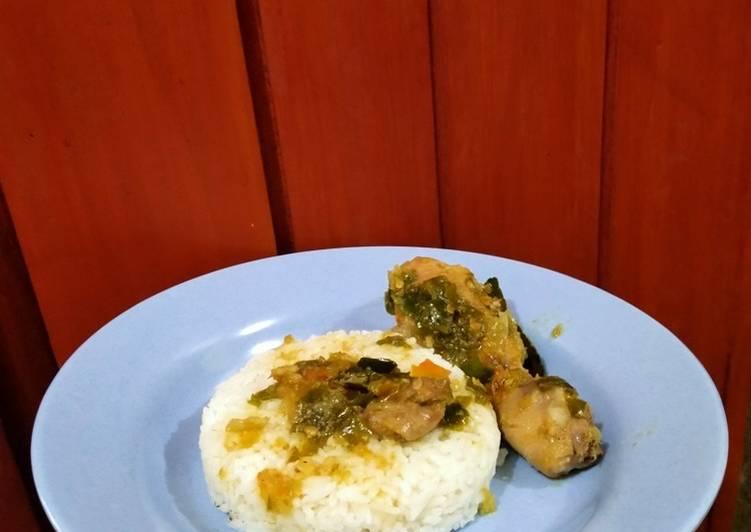 Resep Ayam cabe ijo