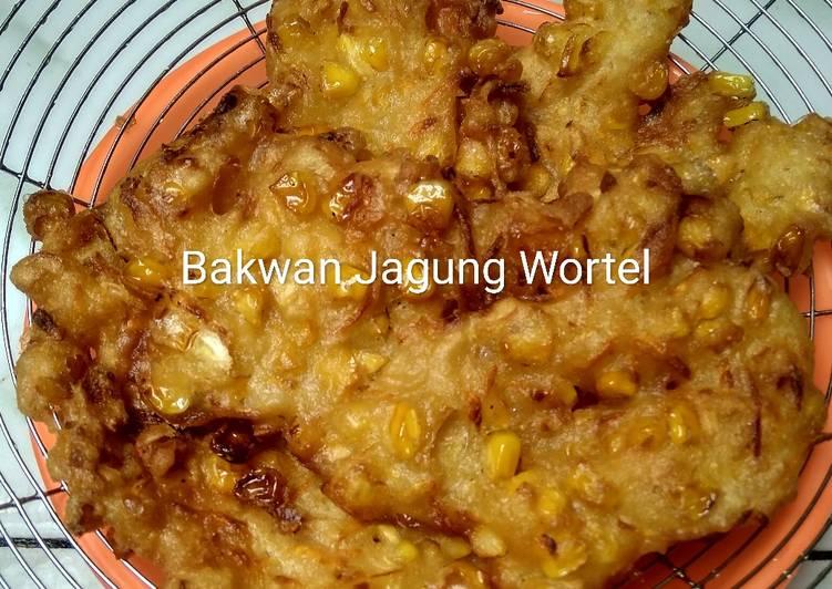 Resep Bakwan Jagung Wortel