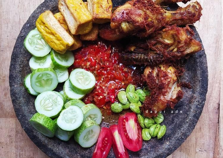 Resep Sambal Ayam Geprek 3 Bahan
