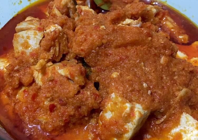 Resep Ayam Balado Tahu Putih