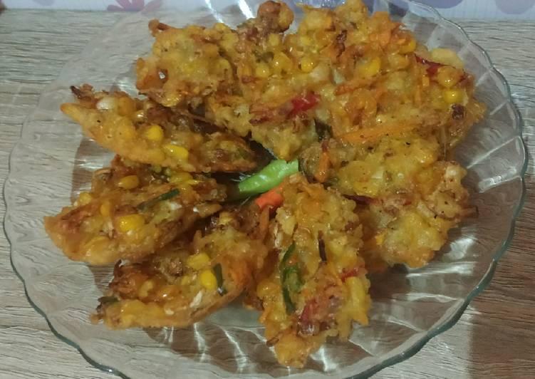 Resep Bakwan jagung krispi ala Manado