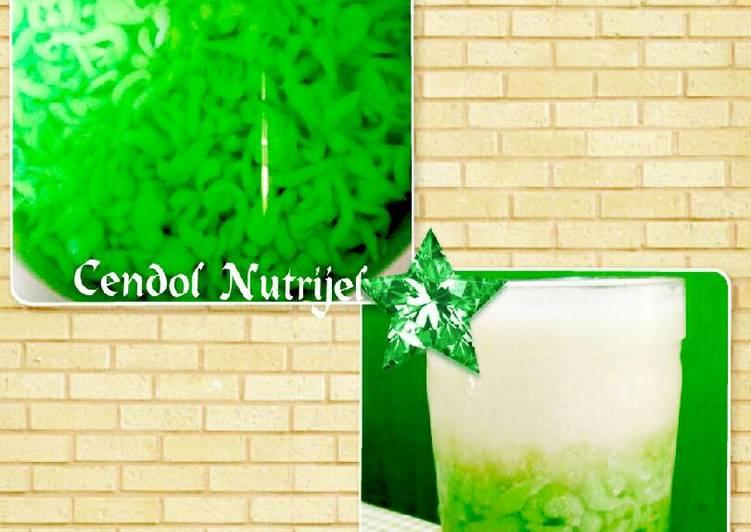 Resep Cendol Nutrijel
