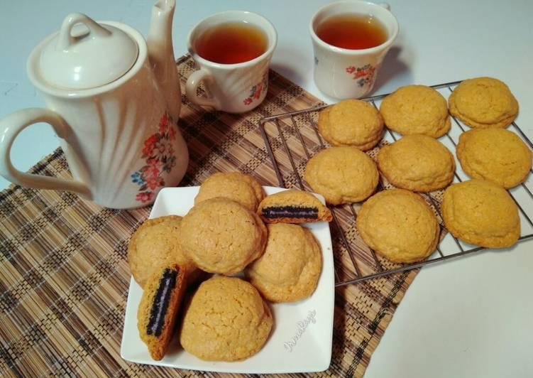 Resep Crunchy Nestum Oreo Cookies