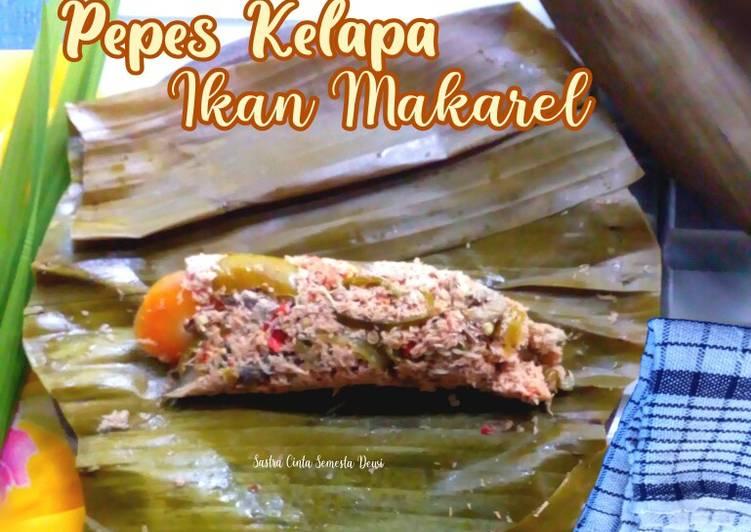 Resep Pepes Kelapa Ikan Makarel Suir