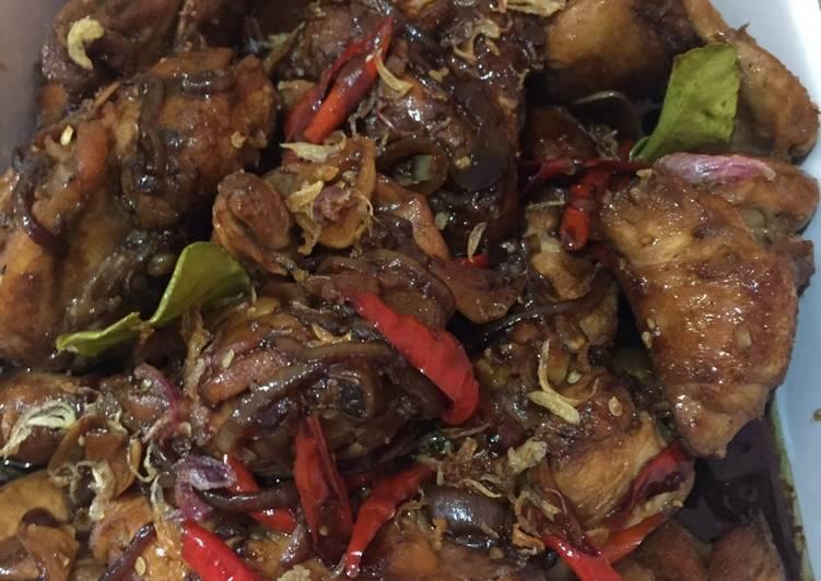 Resep Ayam bumbu kecap