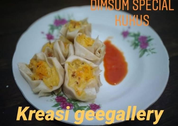 Resep 1Dimsum special kukus