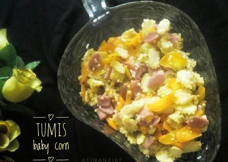 Resep Tumis baby corn