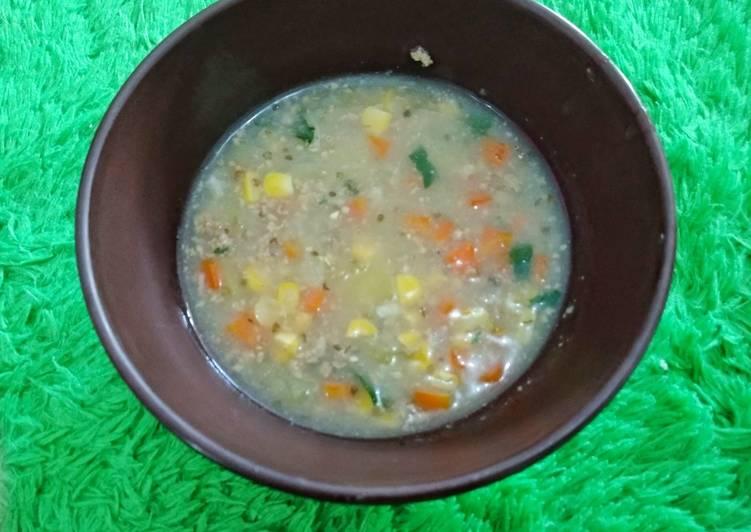 Resep Beef Cream Soup