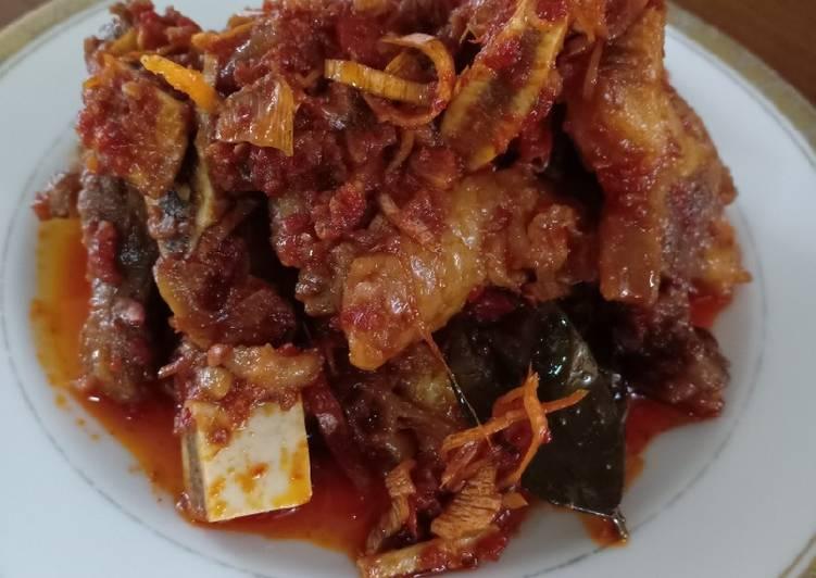 Resep Iga masak Balado Kecombrang