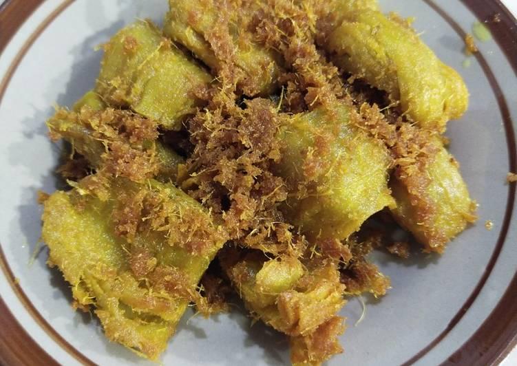 Resep Vegan Ayam ungkep Bumbu kuning dari Micia / Gluten (homemade)