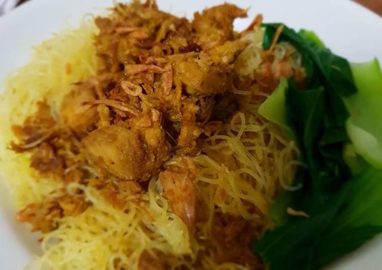 Resep Mie (Bihun) Ayam No MSG