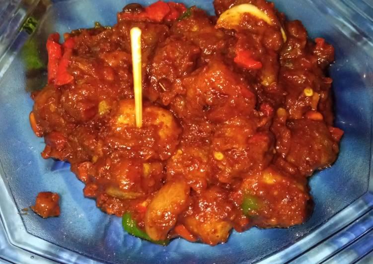 Resep Cimol Bumbu Kacang