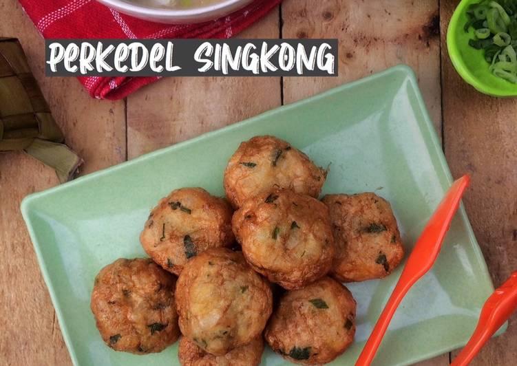 Resep Perkedel Singkong (Pendamping Soto Banjar)