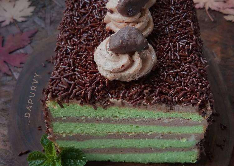 Resep Ice MILO CAKE