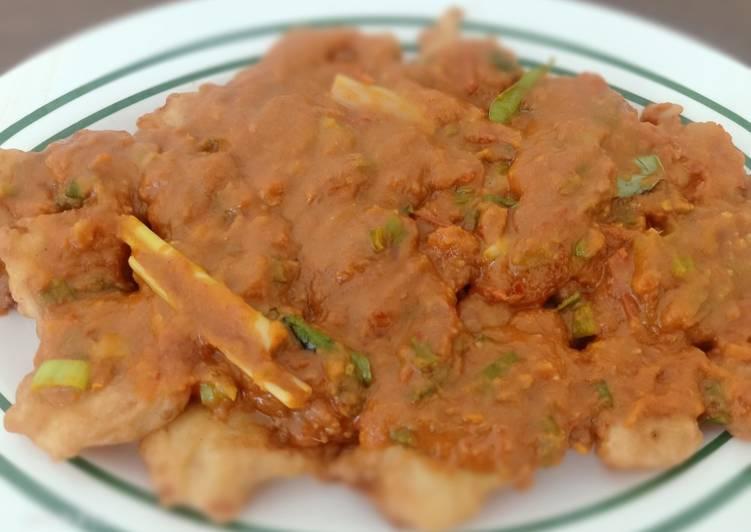 Resep Dori pecak