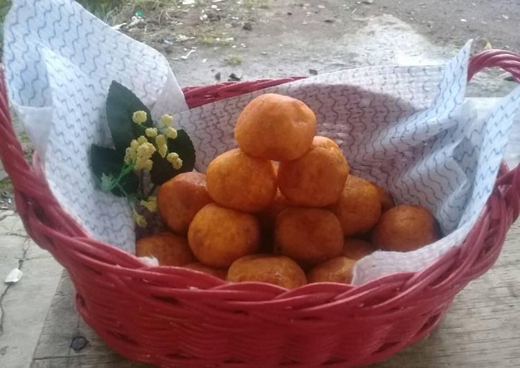 Resep Bola-bola ubi gula merah