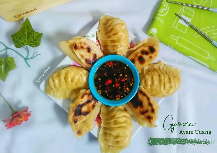 Resep Gyoza Ayam Udang