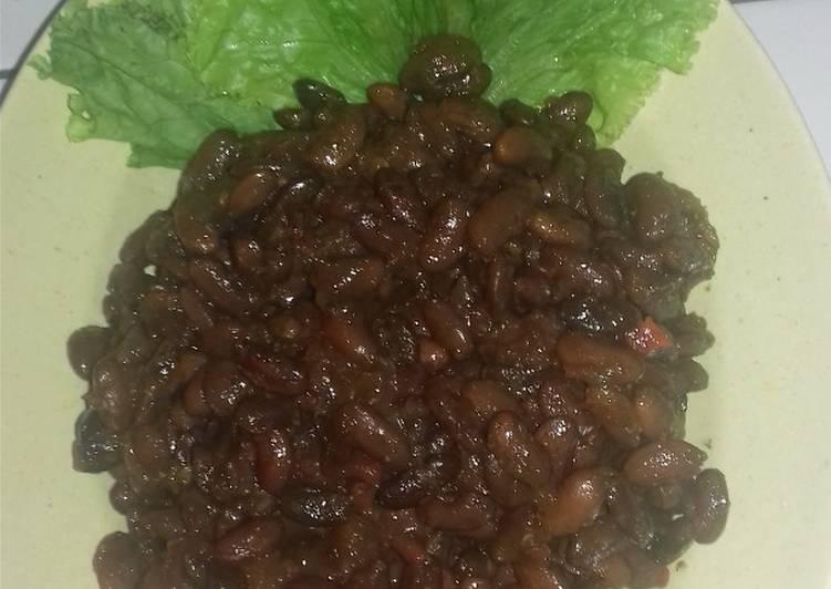 Resep Krengsengan Kacang Merah