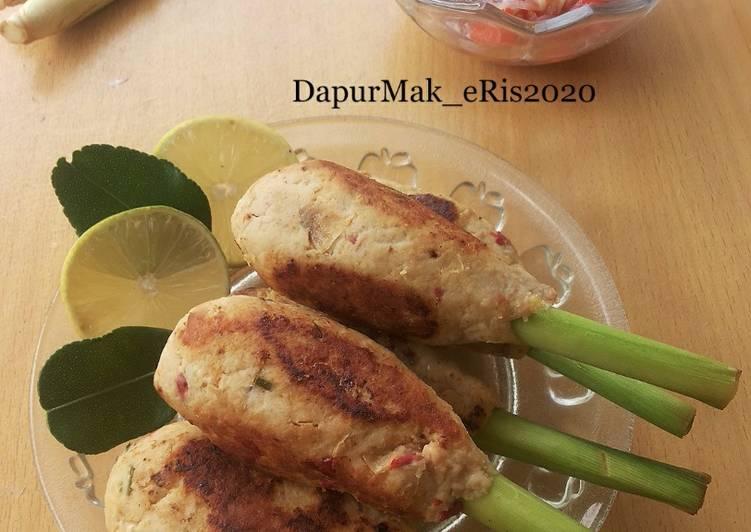 Resep Sate Lilit Ayam Tempe