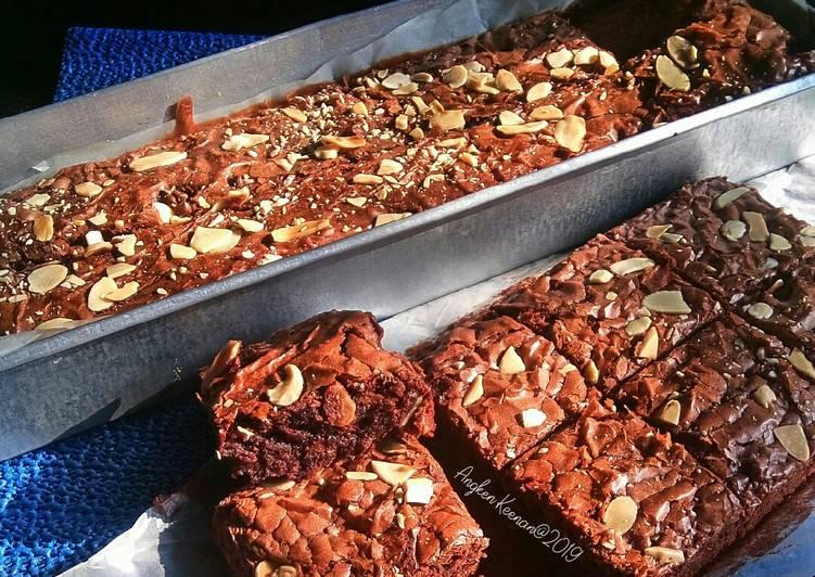 Resep Almond Chocochips Brownies