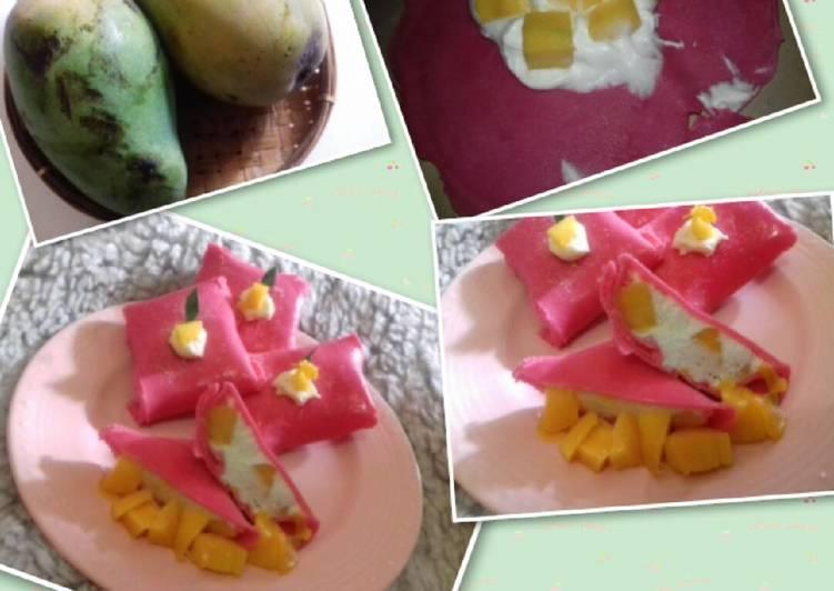 Resep Pancake Mangga