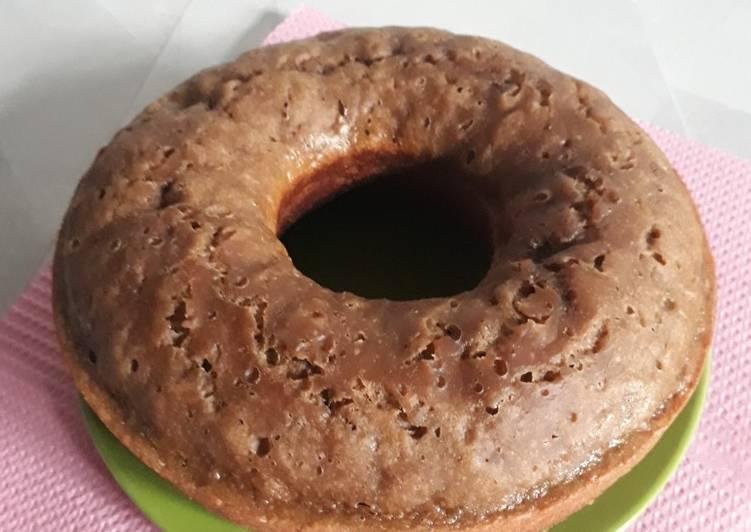 Resep White Coffe Banana Cake