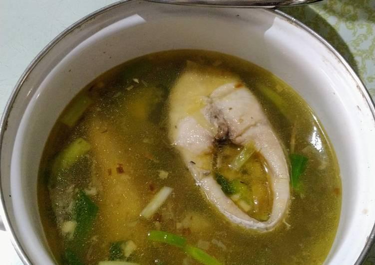 Resep Sop ikan kakap