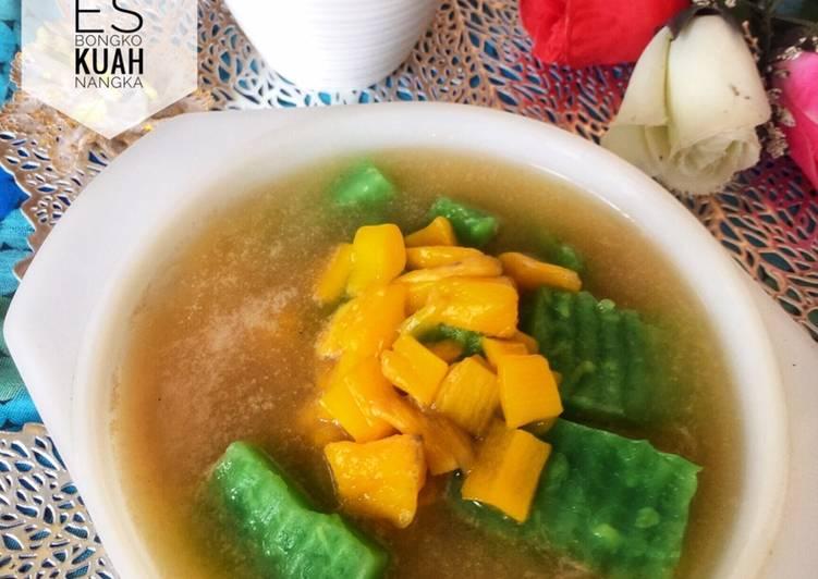 Resep Es Bongko Kuah Nangka