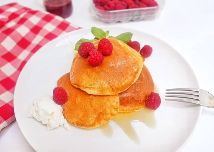 Resep Japanese Pancake / Souffle Pancake