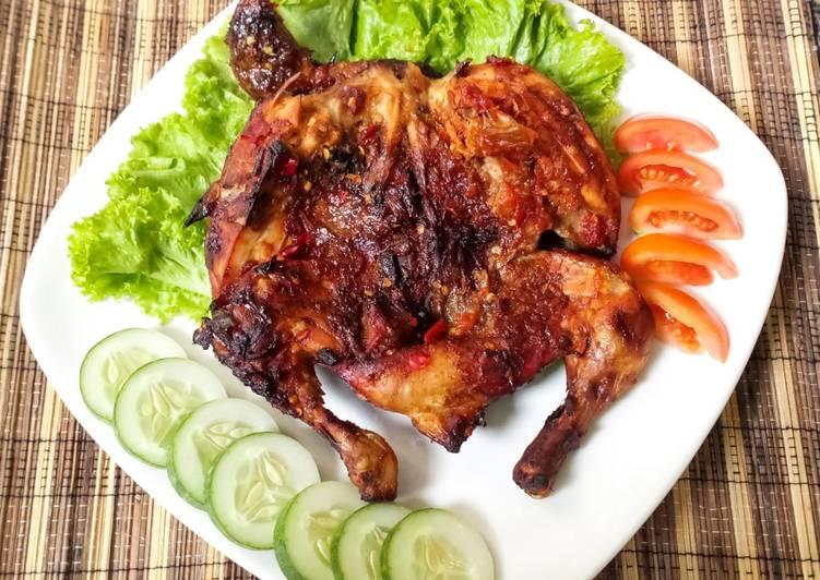 Resep Ayam Panggang Pedas