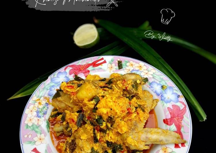 Resep Ayam Tuturaga Khas Manado