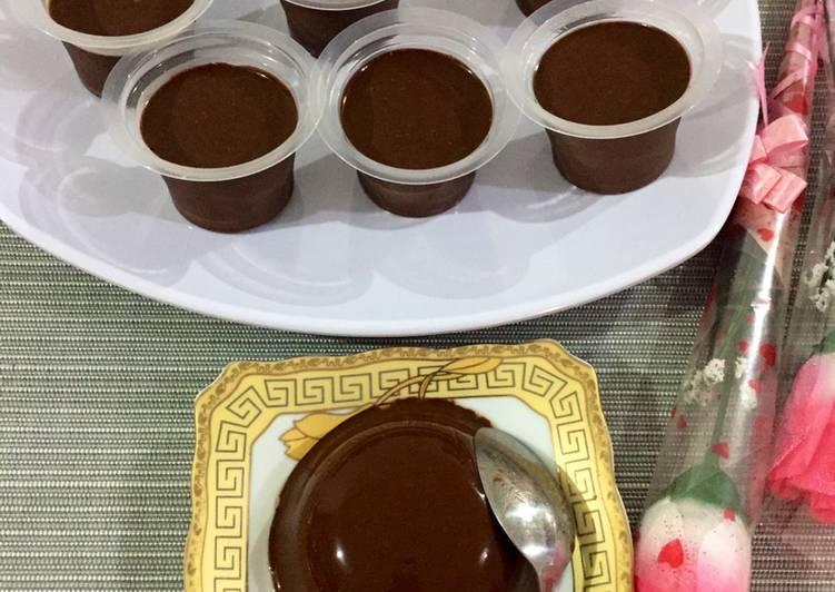 Resep Puding Coklat