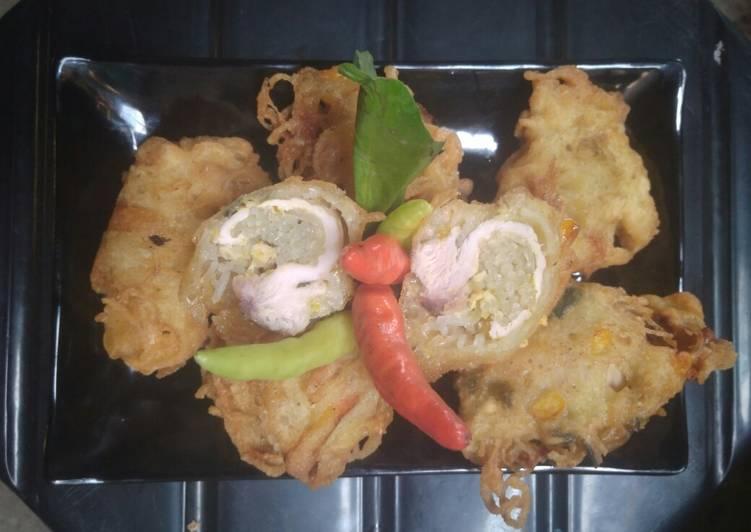 Resep Ayam gulung bihun ala emak Salsa
