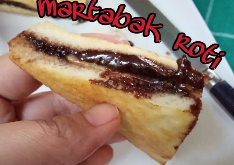 Resep Martabak Roti Coklat Keju