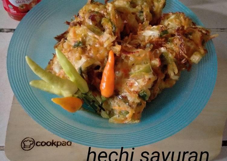 Resep Hechi Sayuran part2