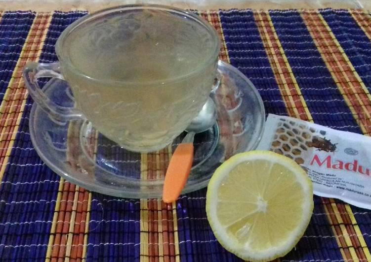 Resep Minuman jeruk lemon madu