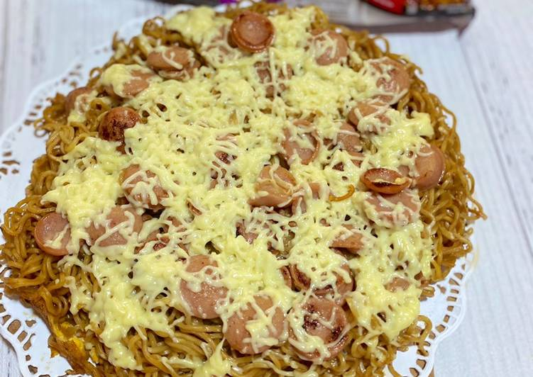 Resep Pizza Indomie