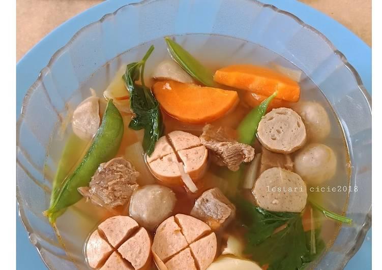 Resep Sup Tomat Daging Sapi