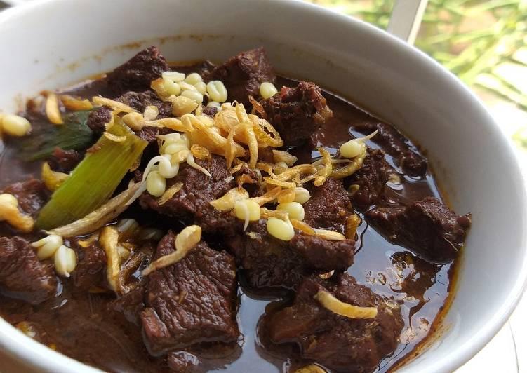 Resep Rawon daging