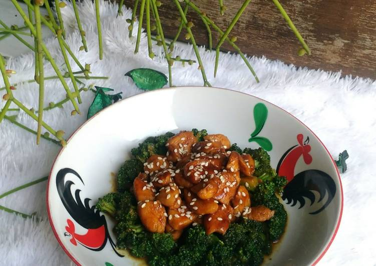 Resep Tumis Brokoli Ayam Kecap