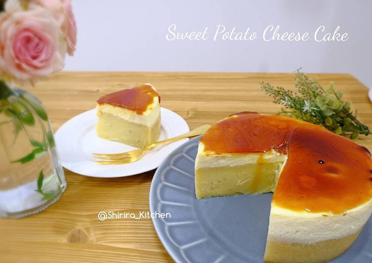 Resep Sweet Potato Cheese Cake