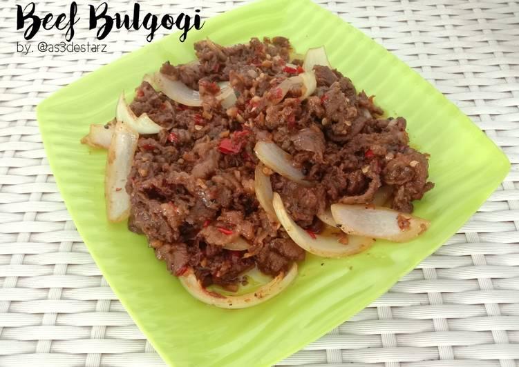 Resep Beef Bulgogi