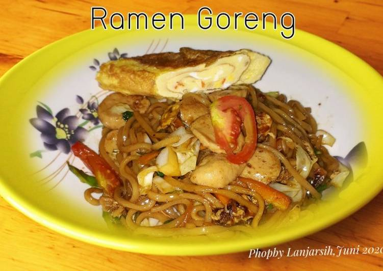 Resep Ramen Goreng
