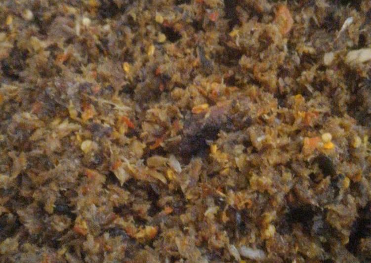 Resep Sambal ikan cakalang